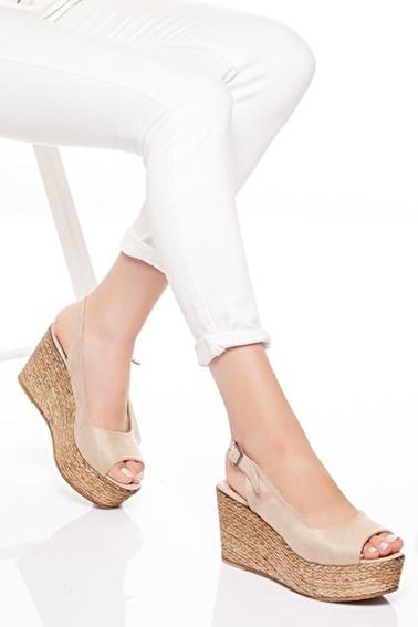 MODAGON Ayakkabı Vizon